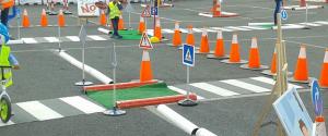 parque de seguridad vial infantil