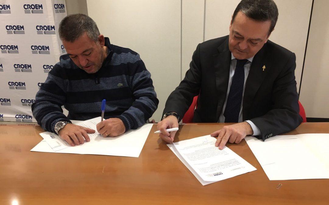 Firma Convenio Asociación DIA-CROEM 2