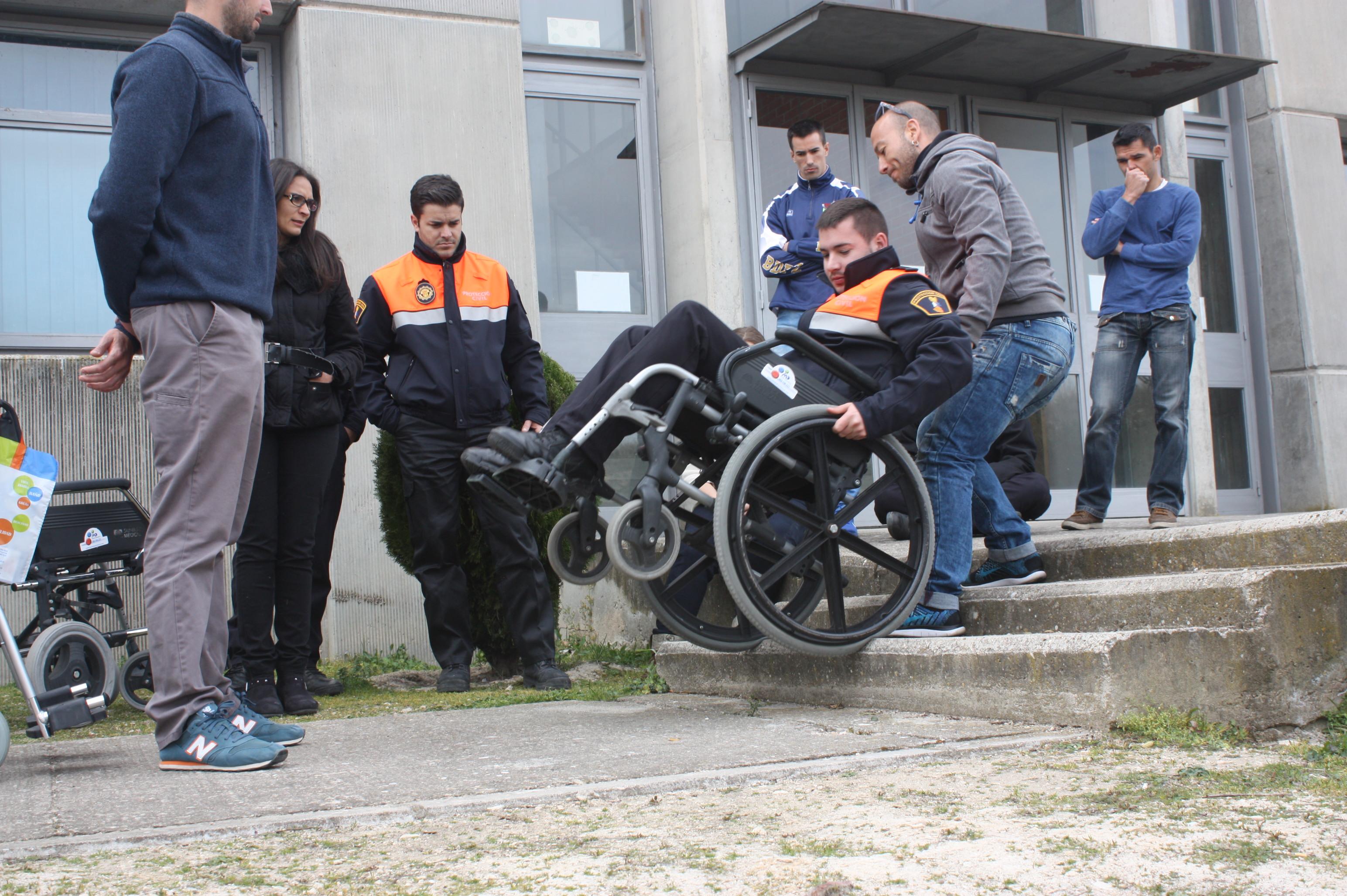 Curso sobre Actuación en Emergencias con Personas con Discapacidad