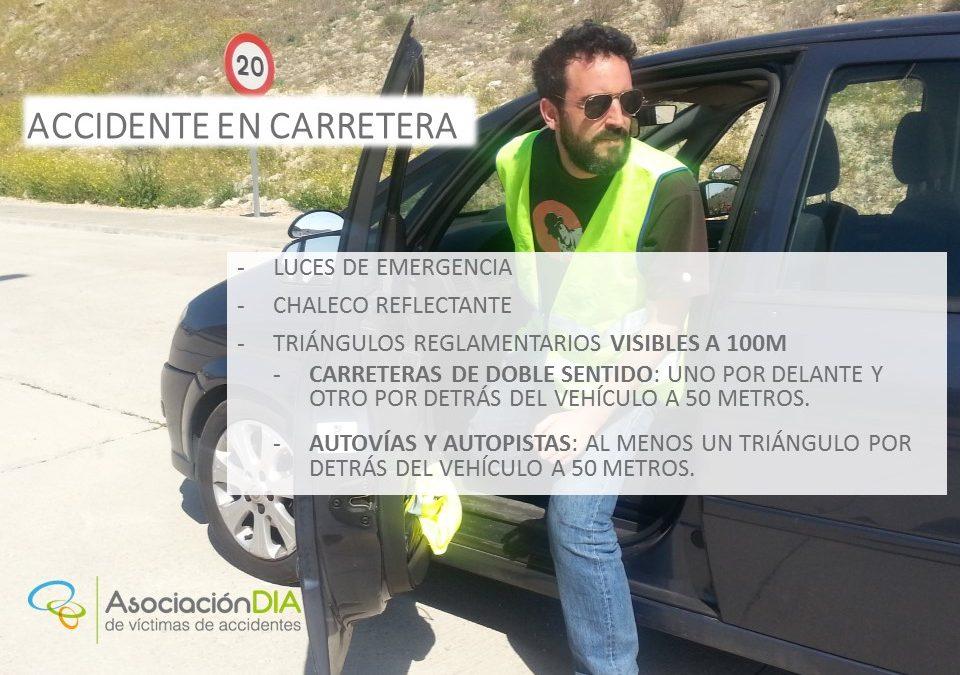 ACCIDENTE EN CARRETERA - 3-4 SIMULACRO