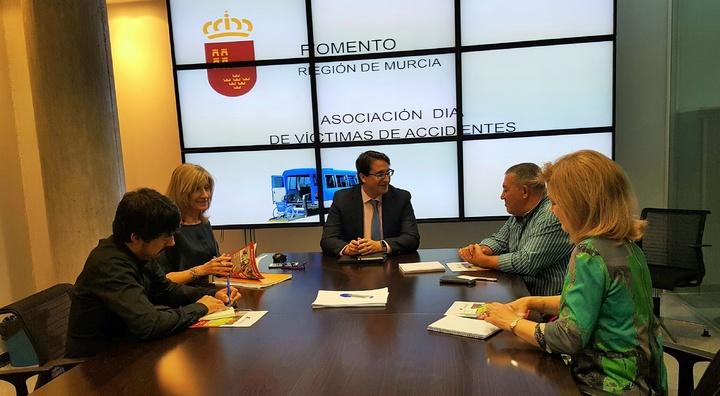 Reunión Asociación DIA - Gobierno de Murcia - Fomento e infraestructuras