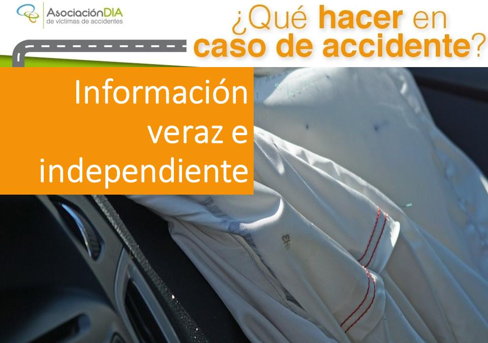 ¿Qué hacer en caso de accidente? Información veraz e independiente