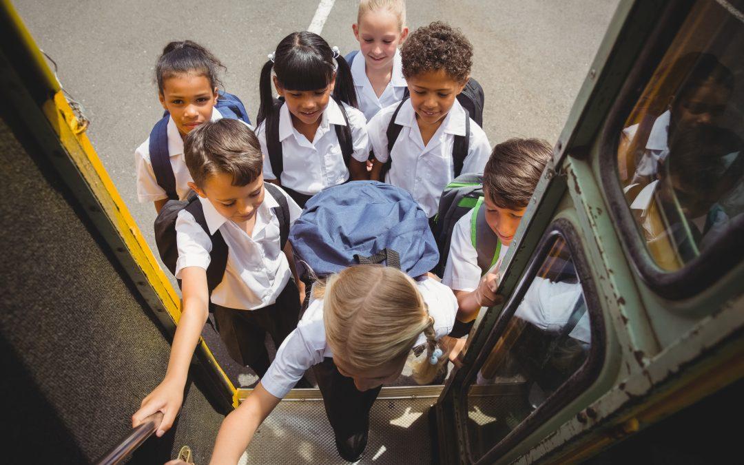 Vuelta al cole-Prevención de accidentes en el transporte escolar