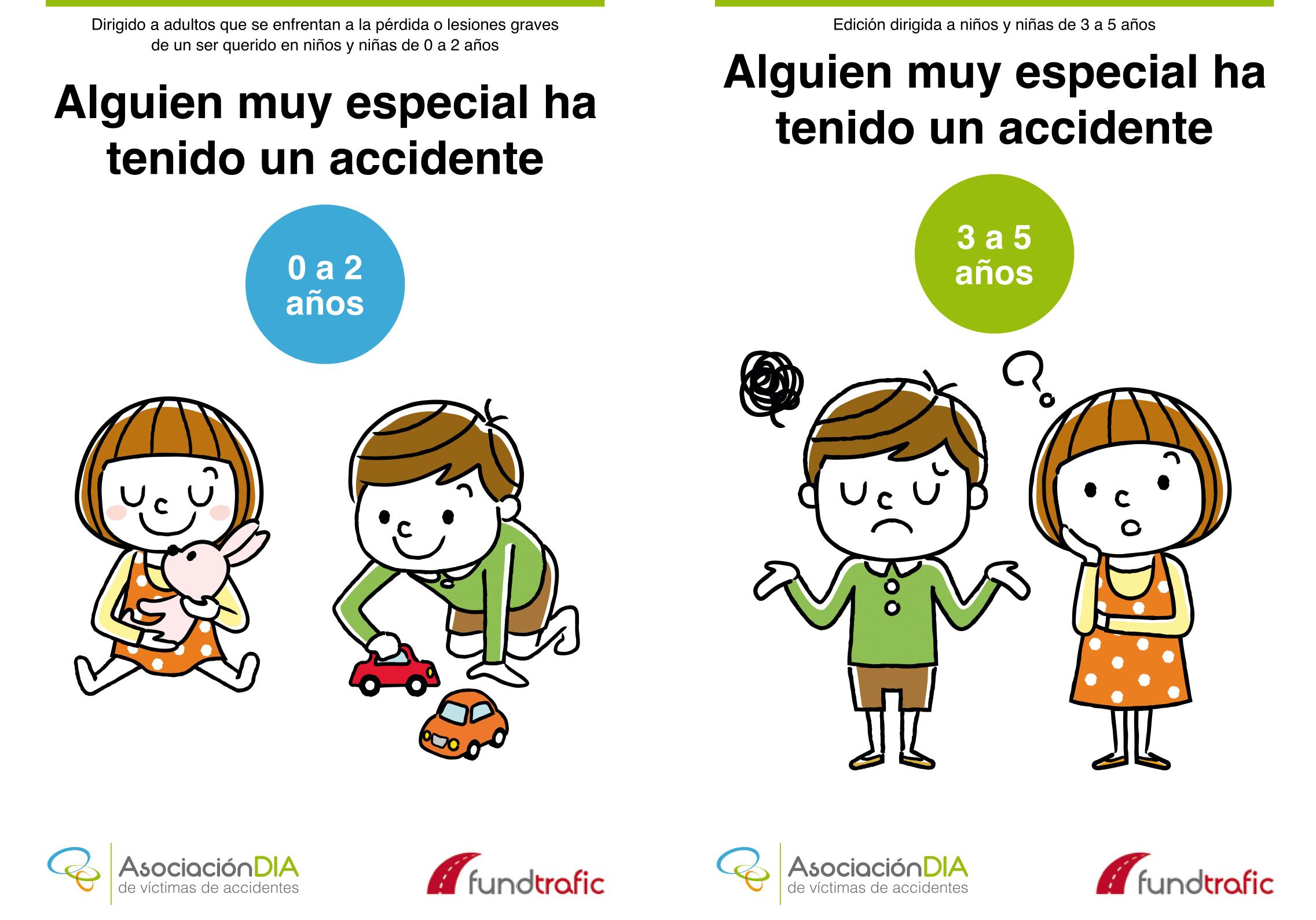 Alguien muy especial ha tenido un accidente -niños-as Asociación DIA