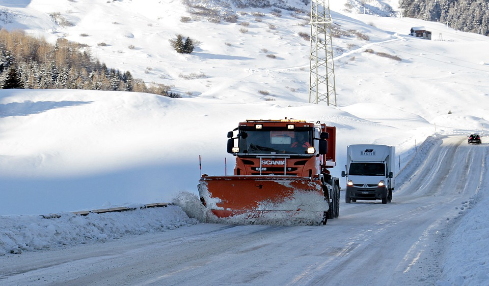 Máquinas quitanieves - Fomento - nevadas