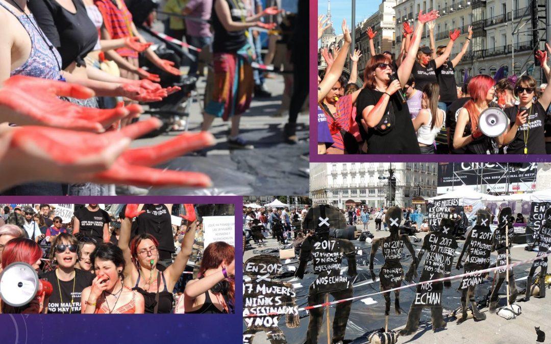 Víctimas de accidentes solidarias con las víctimas de violencia de género