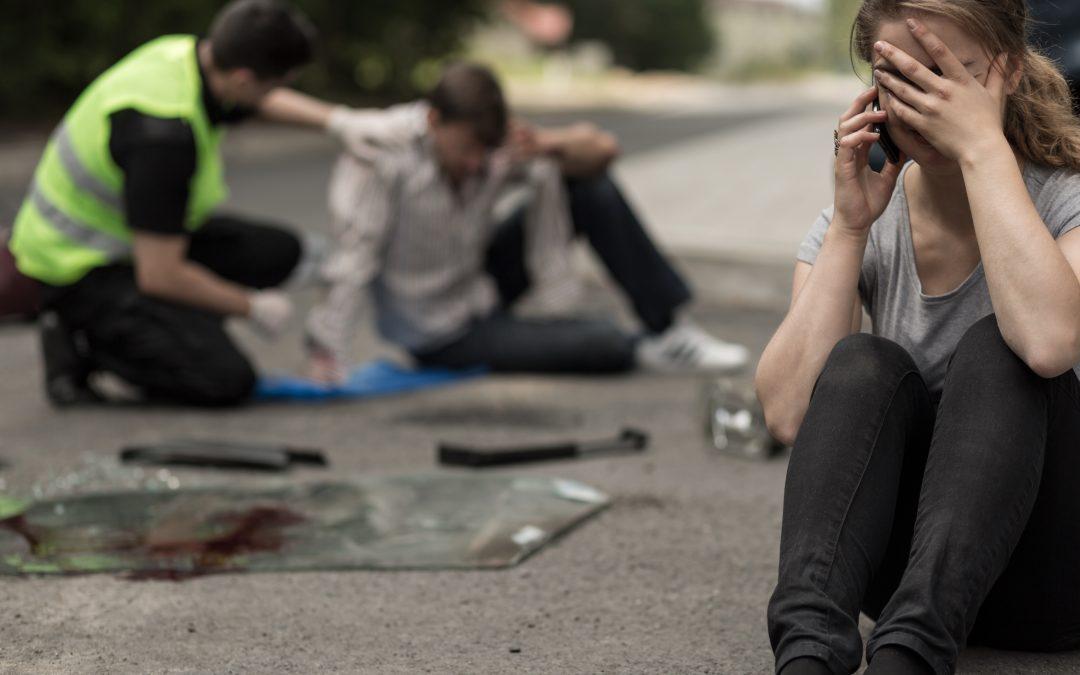 LA DGT víctimas de accidentes