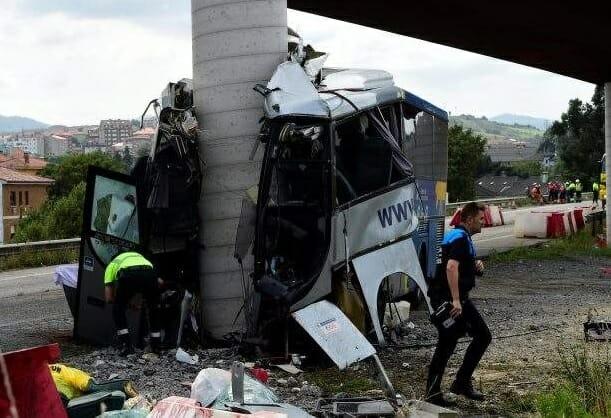 """El conductor del autobús siniestrado podría sufrir """"vértigo y mareos"""""""