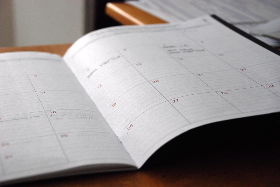 calendario-transporte de viajeros