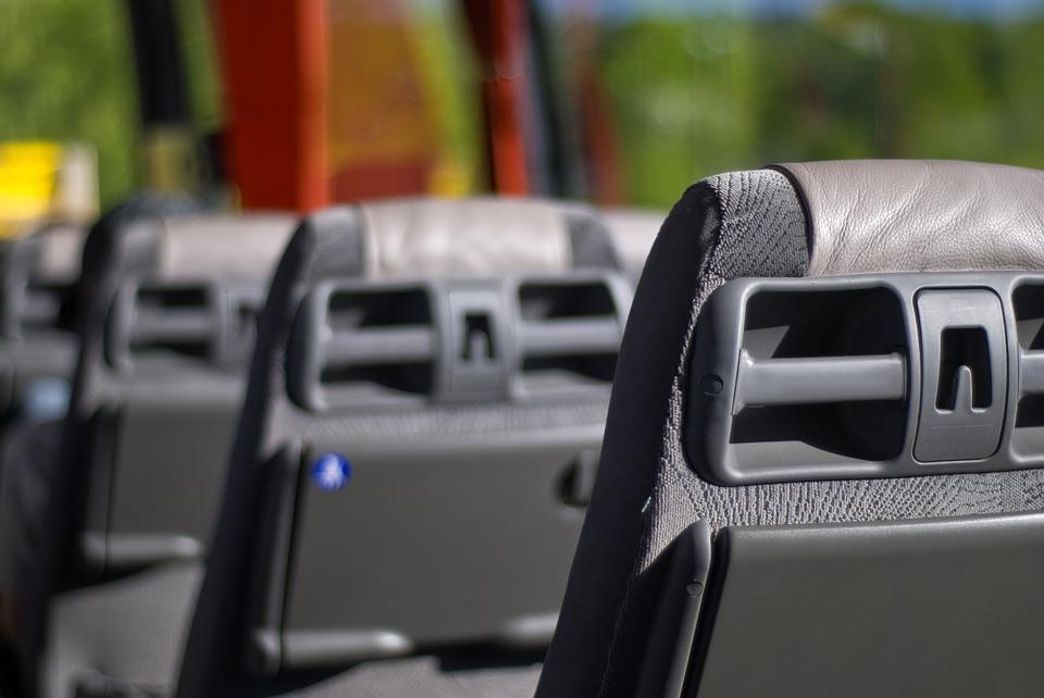 denuncia transporte - autobús - asociación DIA ASIENTOS