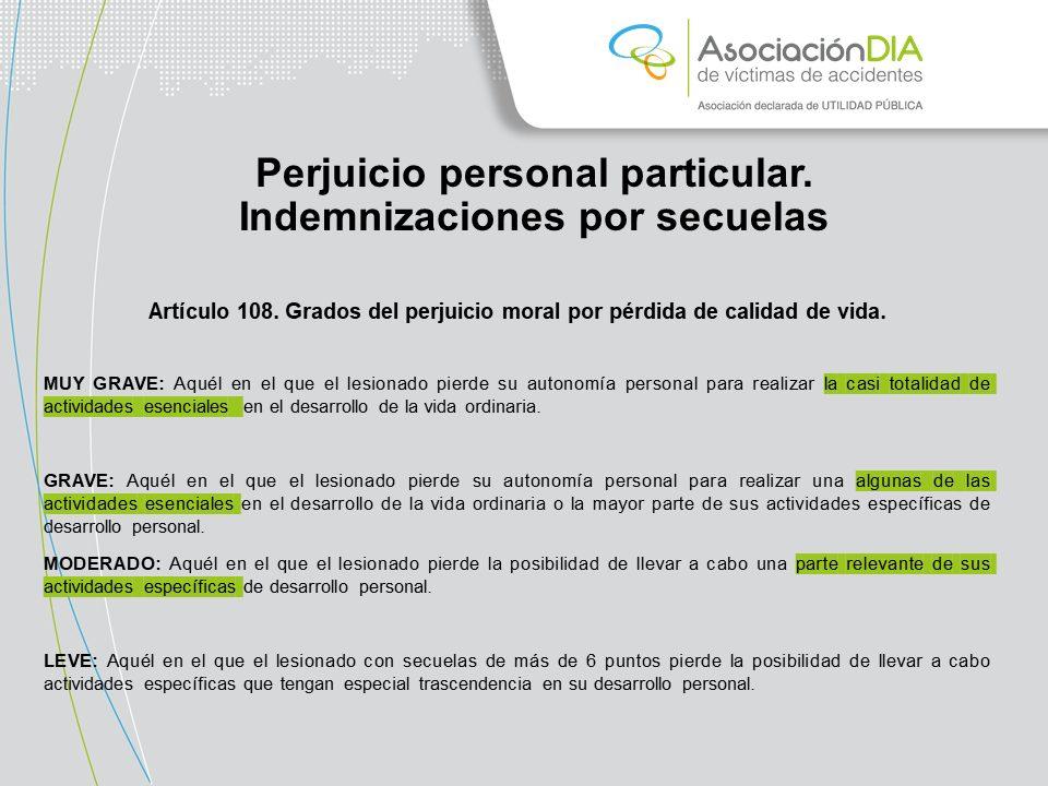 Perjuicio personal básico_congreso de víctimas