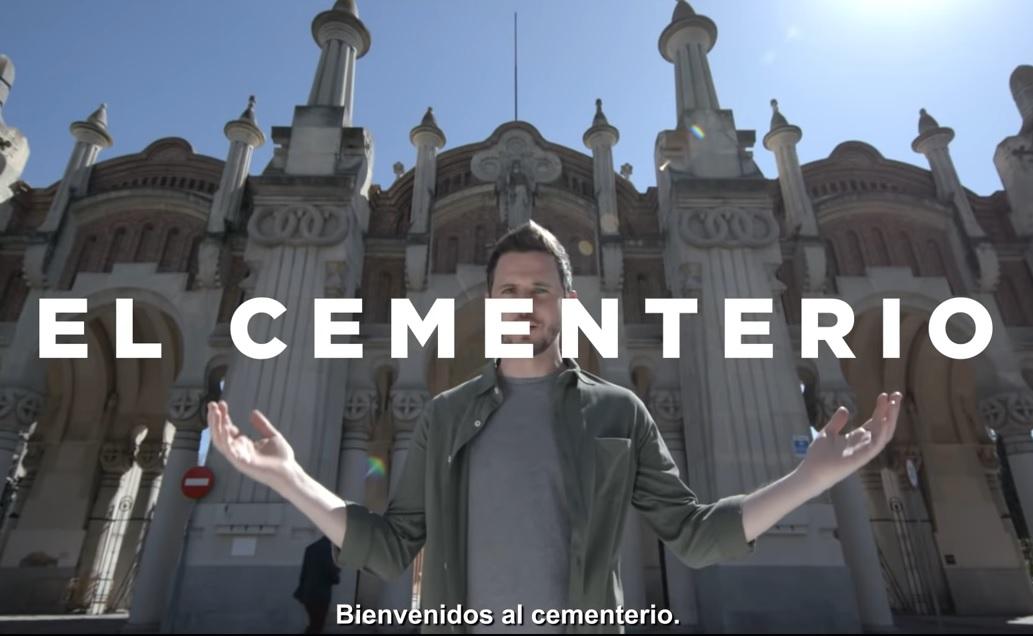 El cementerio - topvacional - trafico para semana santa
