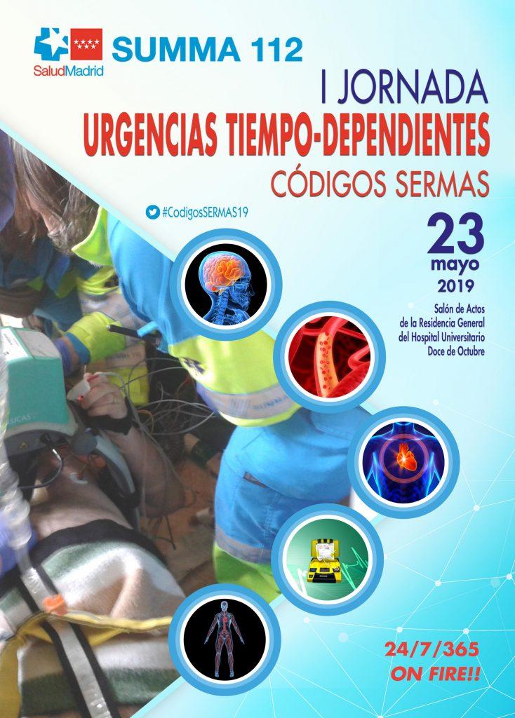 Jornada urgencias tiempo-dependientes CODIGOS SERMAS-23 mayo