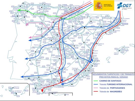 operación especial de tráfico para el verano 2019 DGT