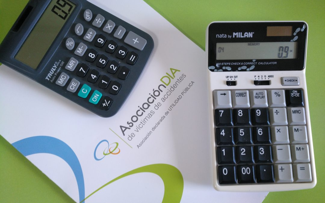 DIA ofrece dos calculadoras a la Dirección General de Seguros para que actualice las indemnizaciones