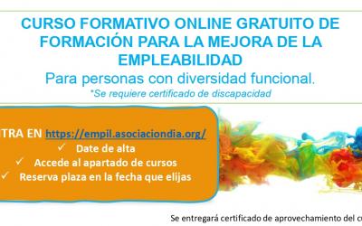 CONVOCATORIA: Curso online gratuito para la mejora de la empleabilidad